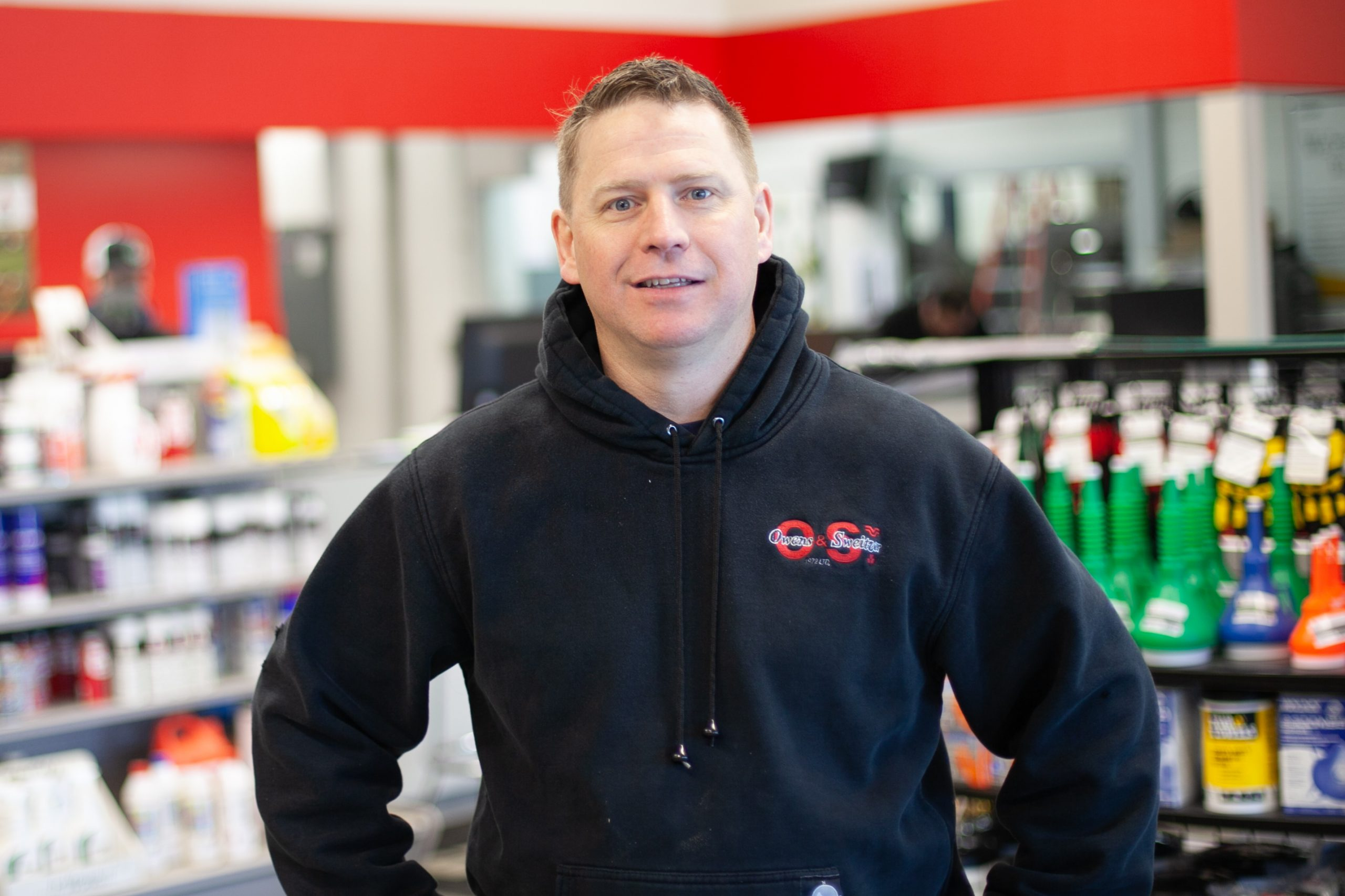 Derek Christiaens | Parts Manager